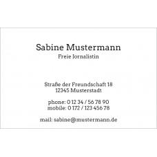 Premium Visitenkarten